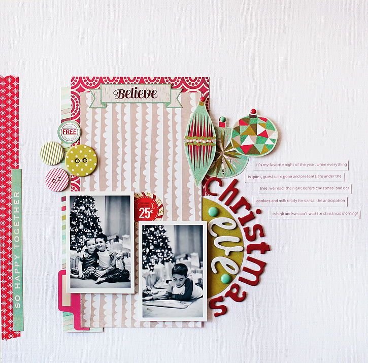Christmas Eve I BG Aspen Frost Collection I Kelly Noel