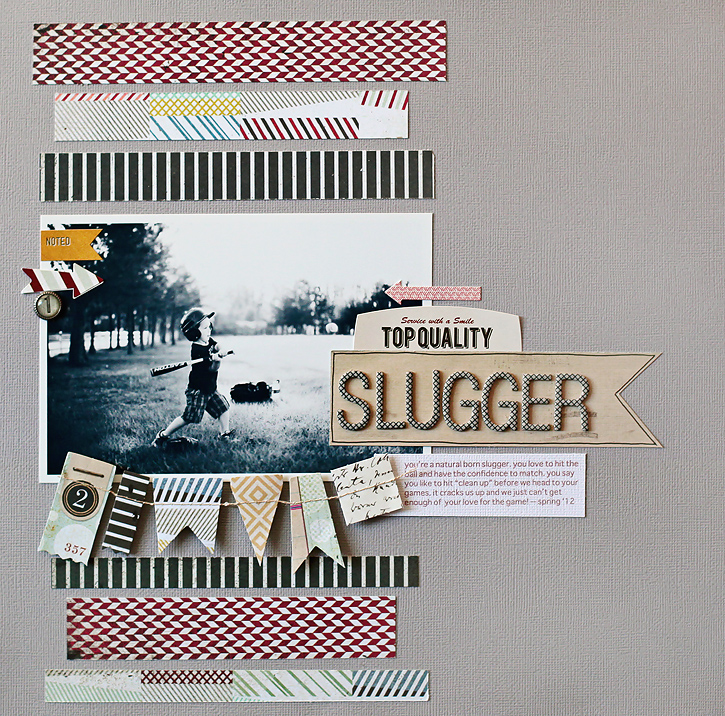 Slugger I BG Clippings Collection I Kelly Noel
