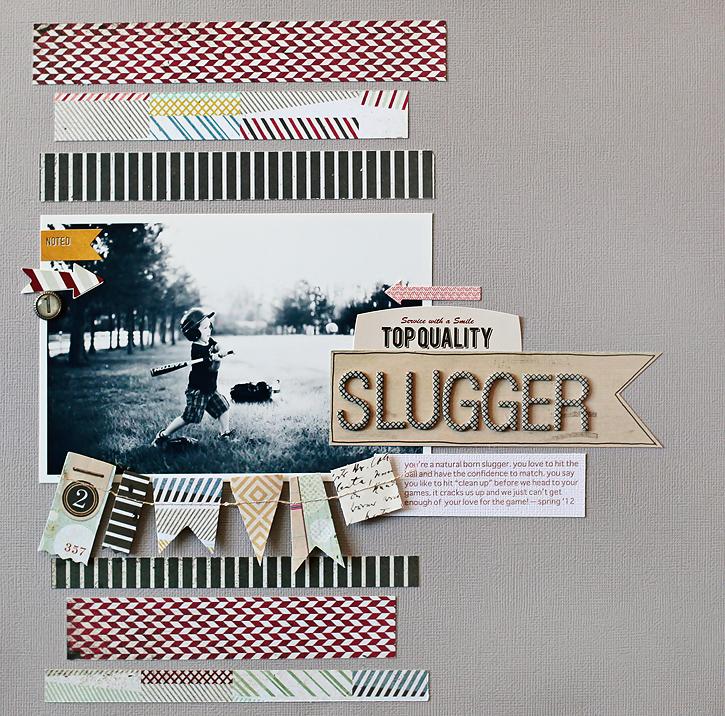 Slugger I BG Clippings Collection I Kelly Noel