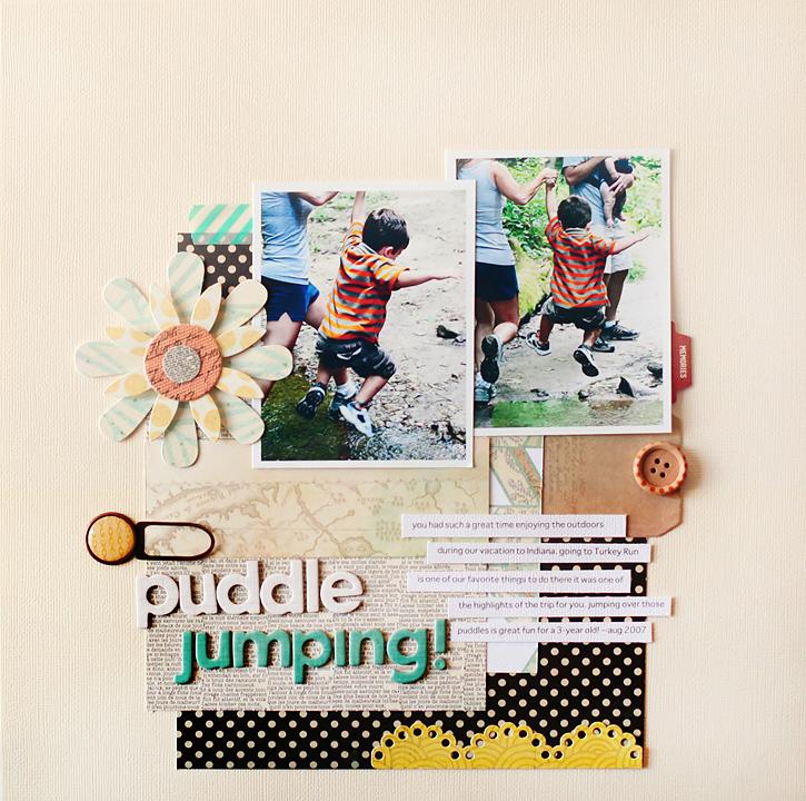 Puddle Jumping I BG Serenade Collection I Kelly Noel