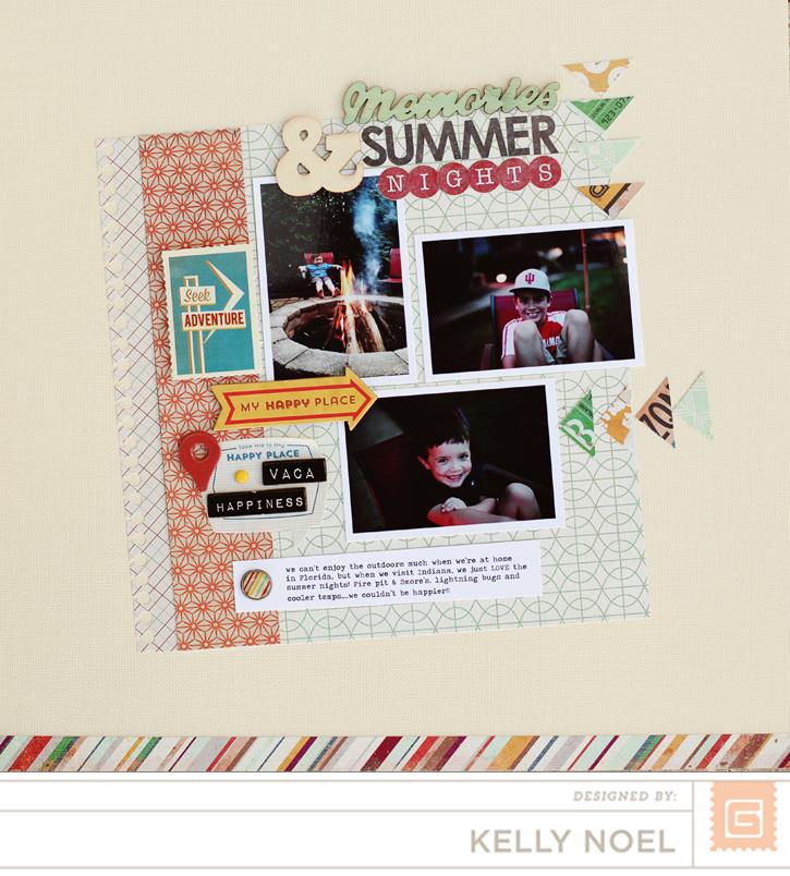 Summer Nights - BasicGrey Carte Postale - Kelly Noel