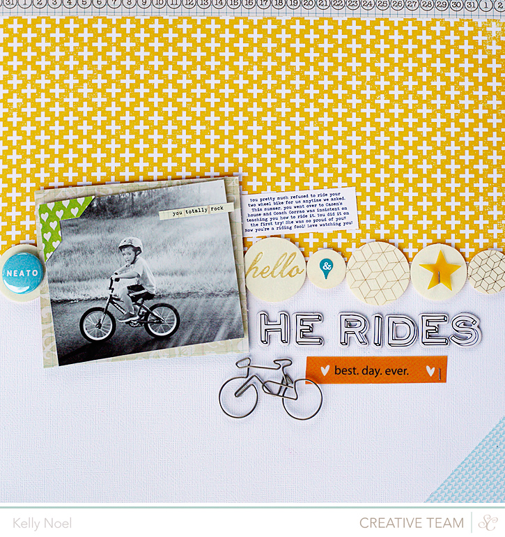 He Rides - Studio Calico Antiquary Kits - Kelly Noel