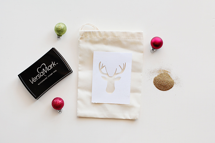 Reindeer Gift Bag DIY 2