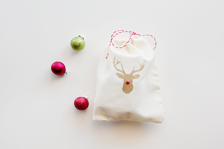 Reindeer Gift Bag DIY