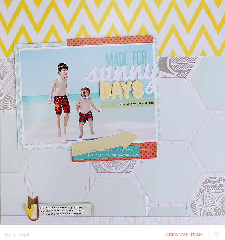 Sunny Days - Studio Calico Wanderlust Collection - Kelly Noel