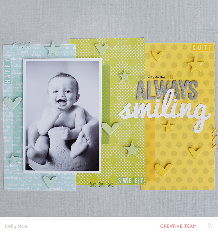 Always Smiling - Studio Calico Essentials Collection - Kelly Noel