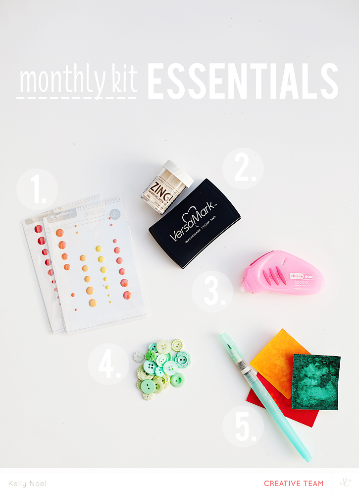 Studio Calico Monthly Kit Essentials - Kelly Noel