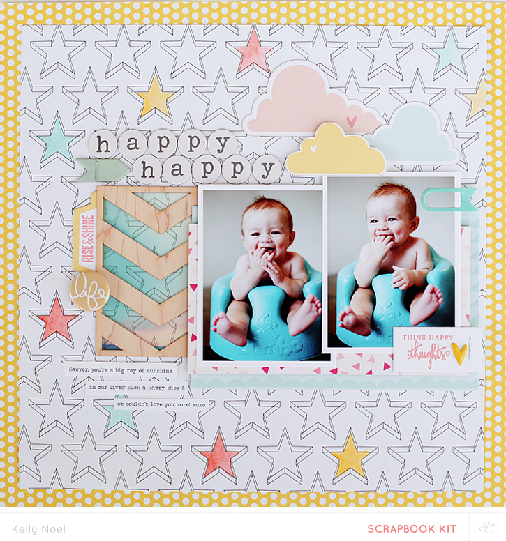 Happy Happy - Studio Calico Bluegrass Farm Kit - Kelly Noel