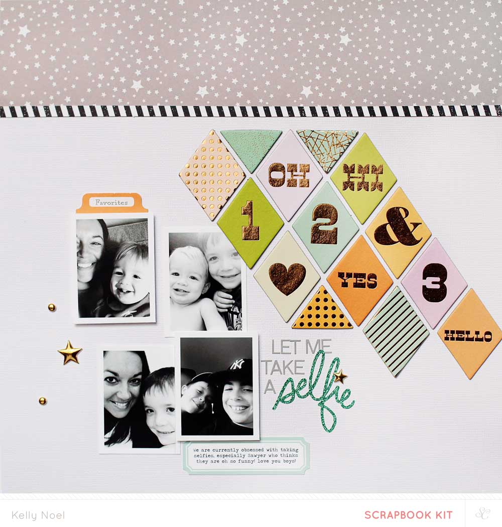 Selfie - Studio Calico Penny Arcade Kit - Kelly Noel