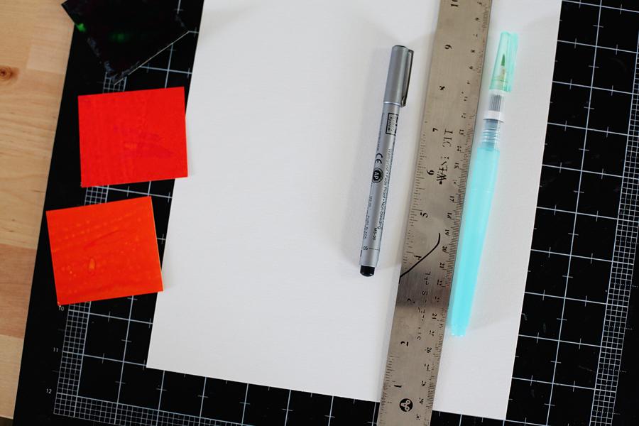 watercolor background tutorial 1
