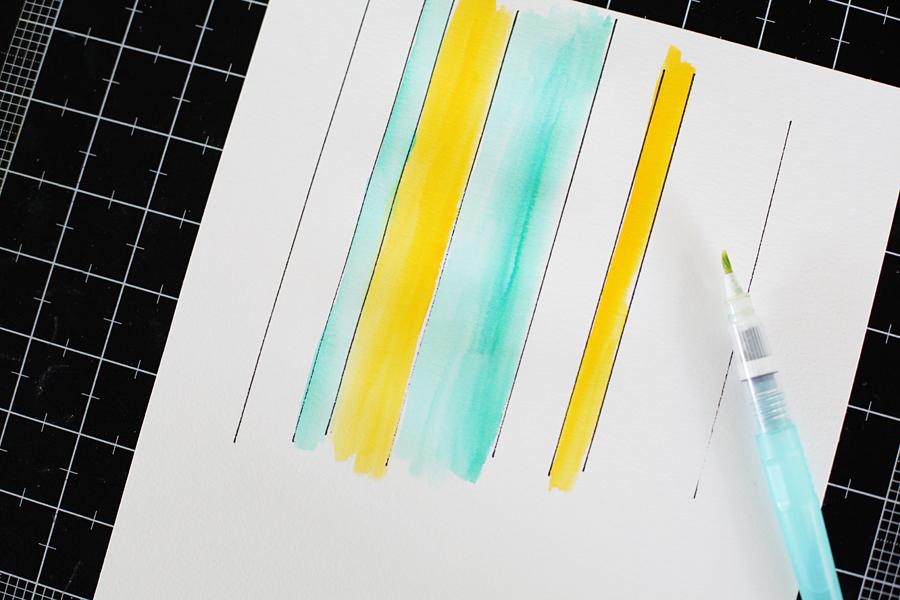 watercolor background tutorial 3