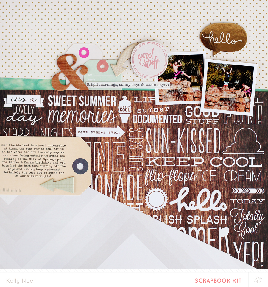 Summer Nights - Kelly Noel - Studio Calico Poet Soceity Kit