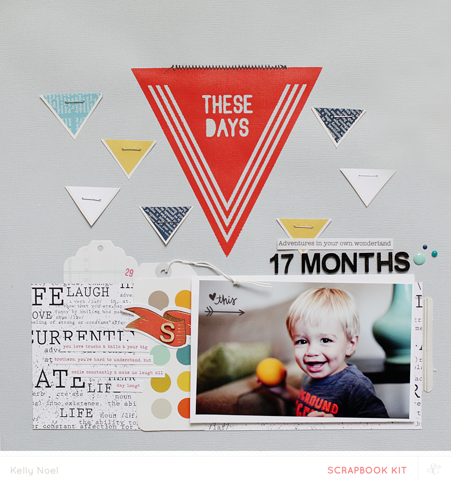 17 months - Kelly Noel - Studio Calico Poet Society Kits