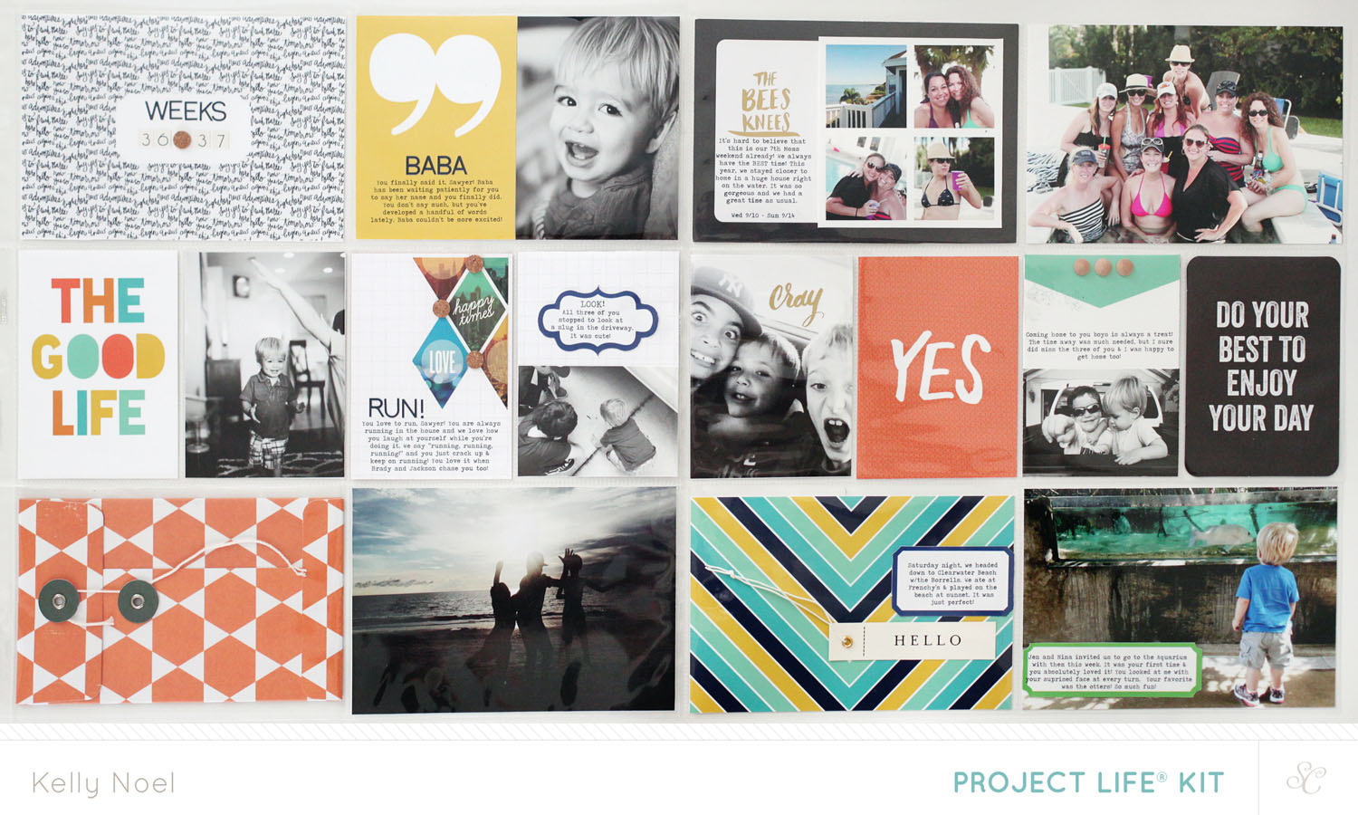 Project Life 2014 - Weeks 36 & 37