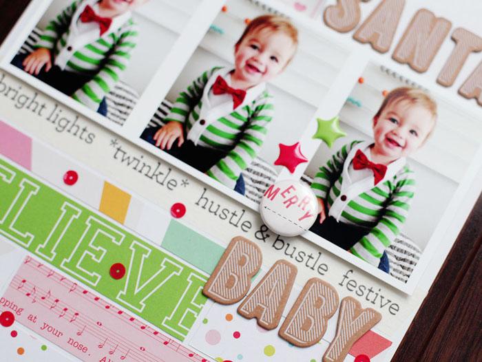 santa baby - detail