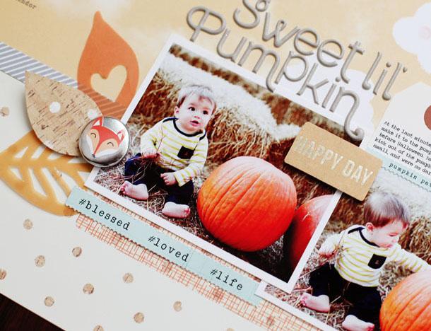 sweet pumpkin - detail