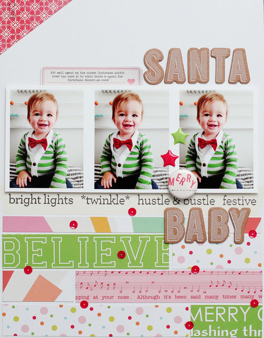 Santa Baby - Kelly Noel - Studio Calico Walden Kits
