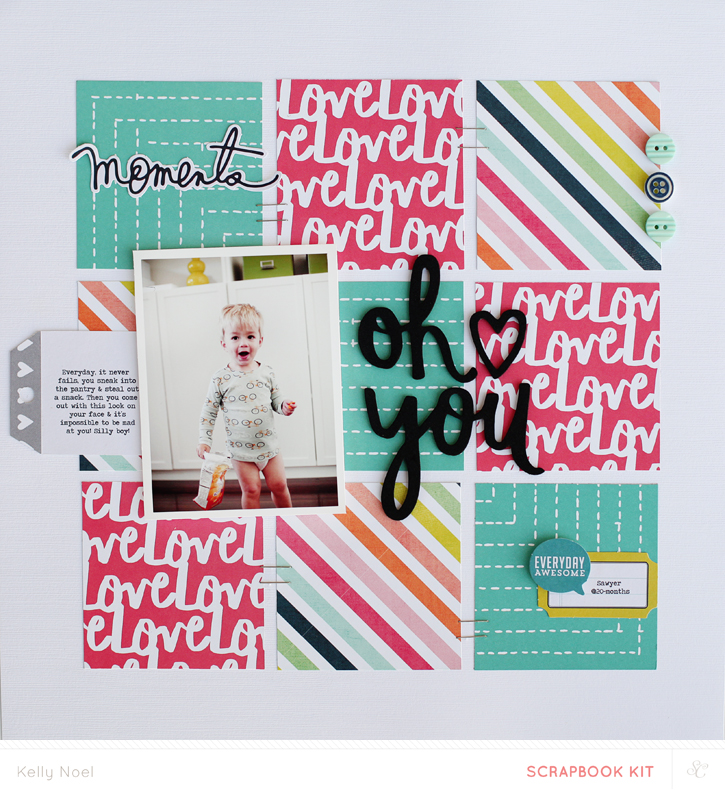 Oh You - Studio Calico Park Ave Kit - Kelly Noel