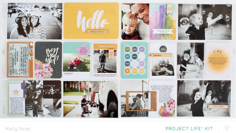 Project Life 2014 Weeks 41 & 42 - Studio Calico Park Ave Kit - Kelly Noel